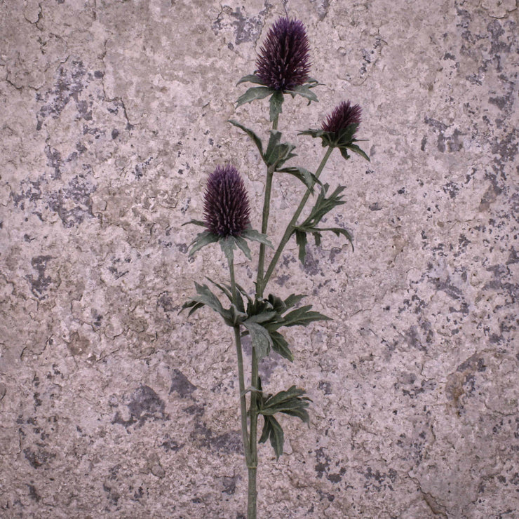 Faux Thistle Spray
