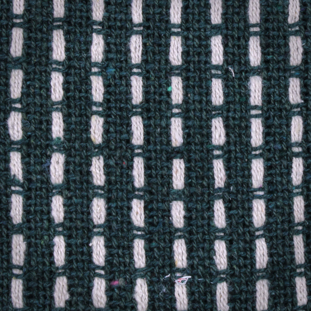 Woven Stab Stitch Throw