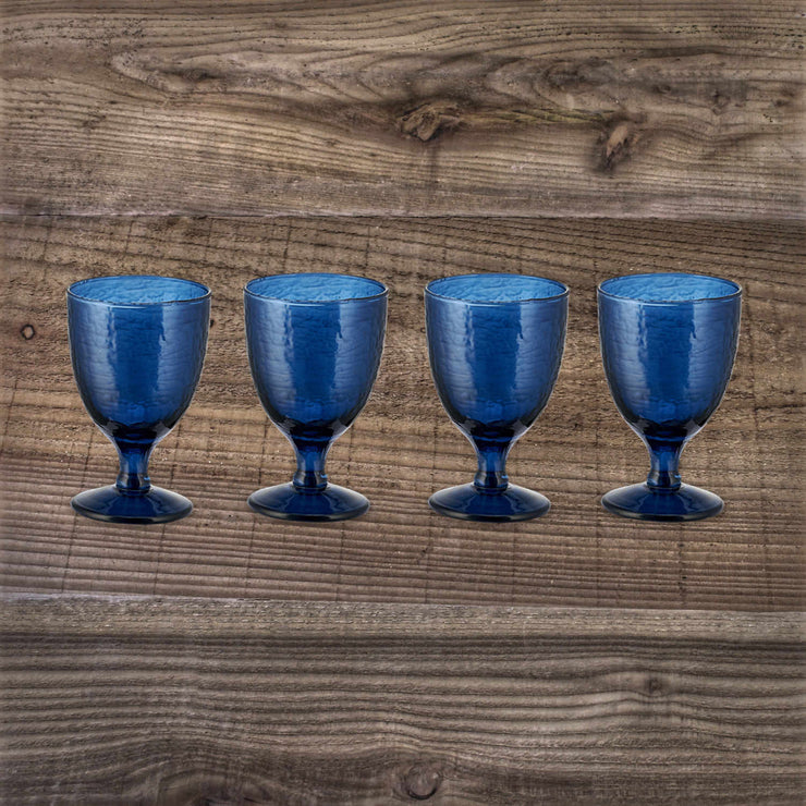 Yala Hammered Wine Glass