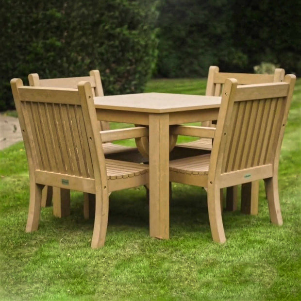 Winawood Sandwick Armchair and Tables 'Old Teak'