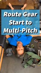 Academy: Gear, from Start to Multi-Pitch Trad