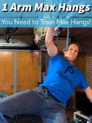 Academy: Single-Arm Max Hangs
