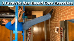 Academy: 3 Favorite Bar-Based Core Exercises