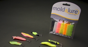moldalure make your own fishing lures. tackle, bait. Custom lures has never been easier. Biodegradable, reusable fishing lures.