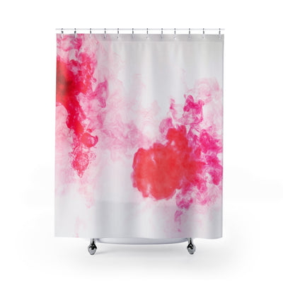 Red Haze Shower Curtain