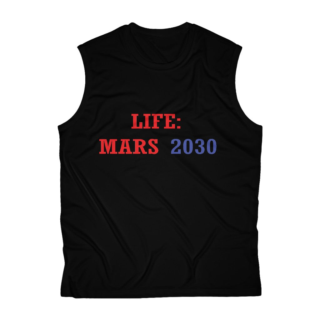 LIFE: MARS 2030 muscle tee-Degree T Shirts