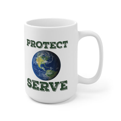 PROTECT SERVE mug-Degree T Shirts
