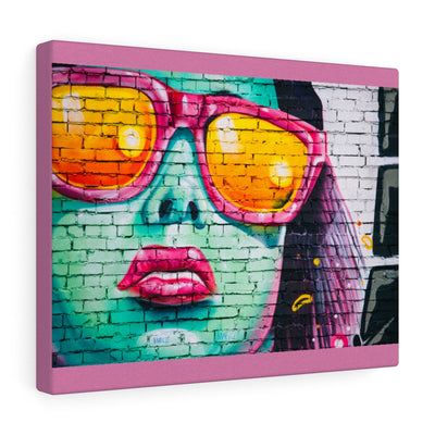 Pink Sunglasses canvas