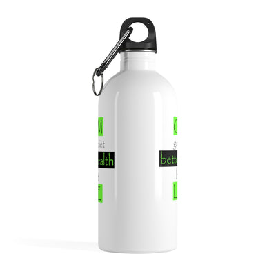 GYM LIFE   Stainless Steel Water Bottle