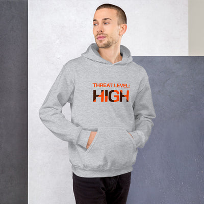 Threat Level: High  Hooded Sweatshirt
