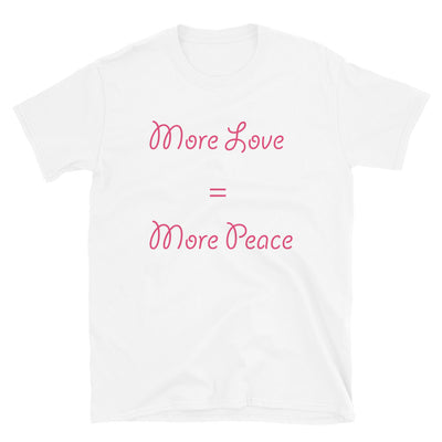 More Love = More Peace