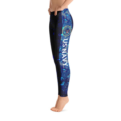 Women's Navy Leggings