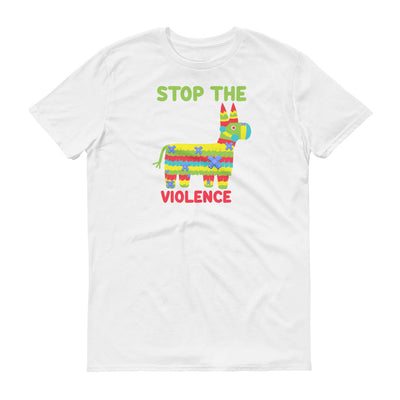 Stop The Violence Slogan Short-Sleeve T-Shirt