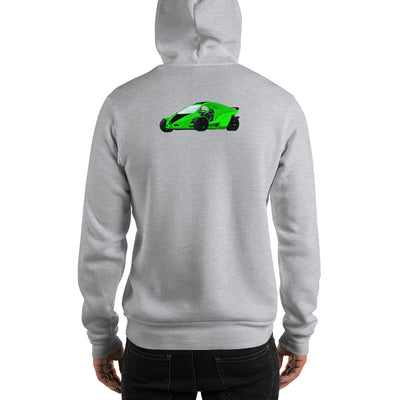 Tanom Invader Hooded Sweatshirt-Degree T Shirts
