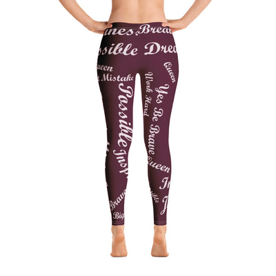 Dream Big! Leggings