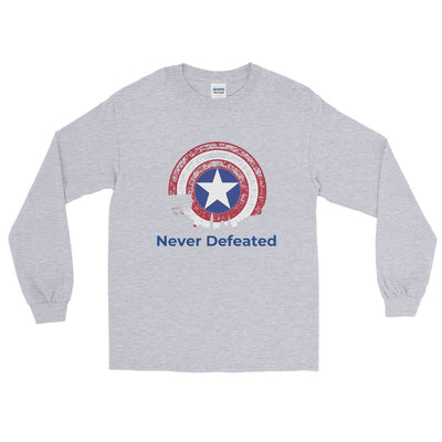 Never Defeated Long Sleeve tee