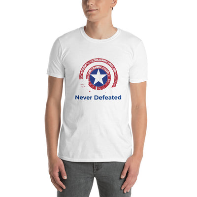 """Never Defeated"""