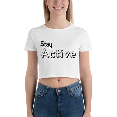 Stay Active Crop