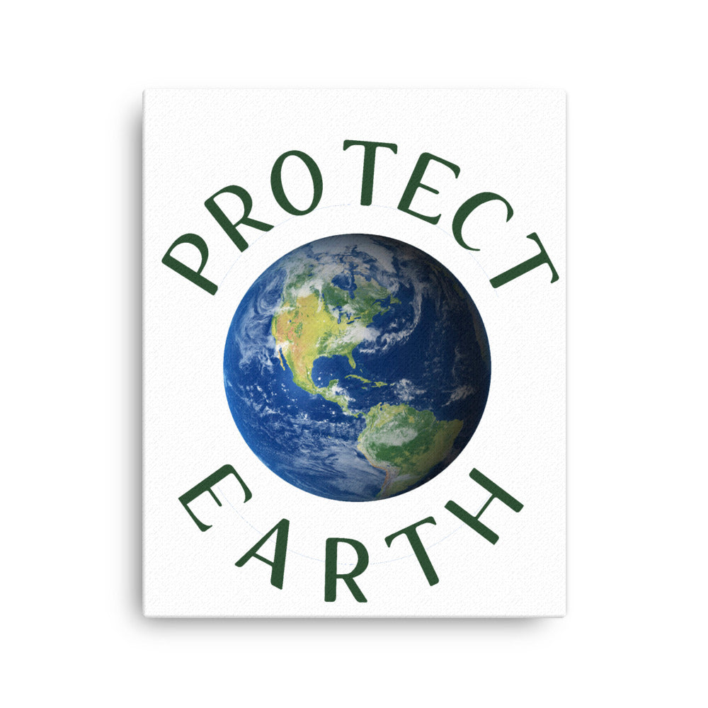 PROTECT EARTH canvas