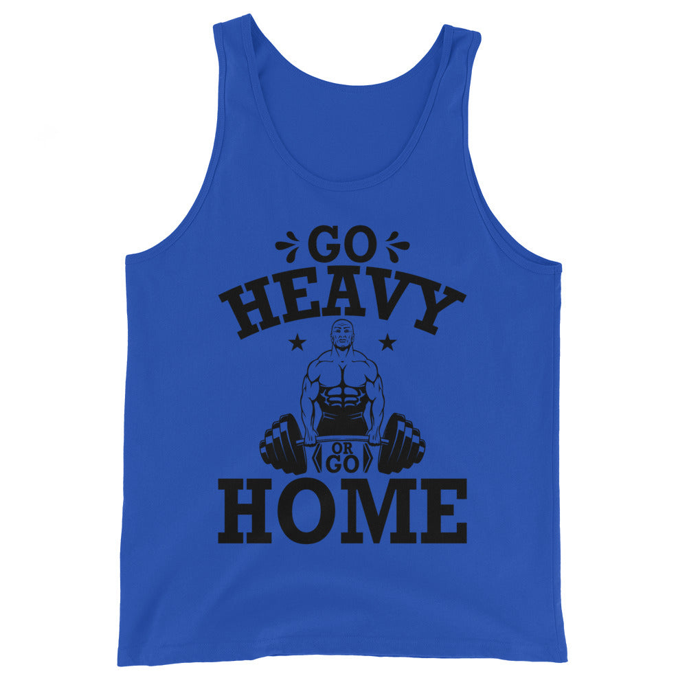Go Heavy or Go Home muscle