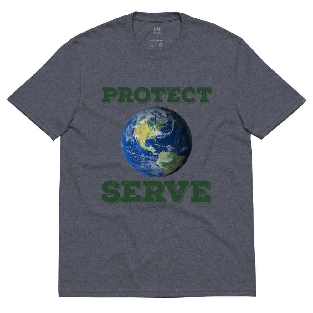 PROTECT SERVE recycled t-shirt-Degree T Shirts