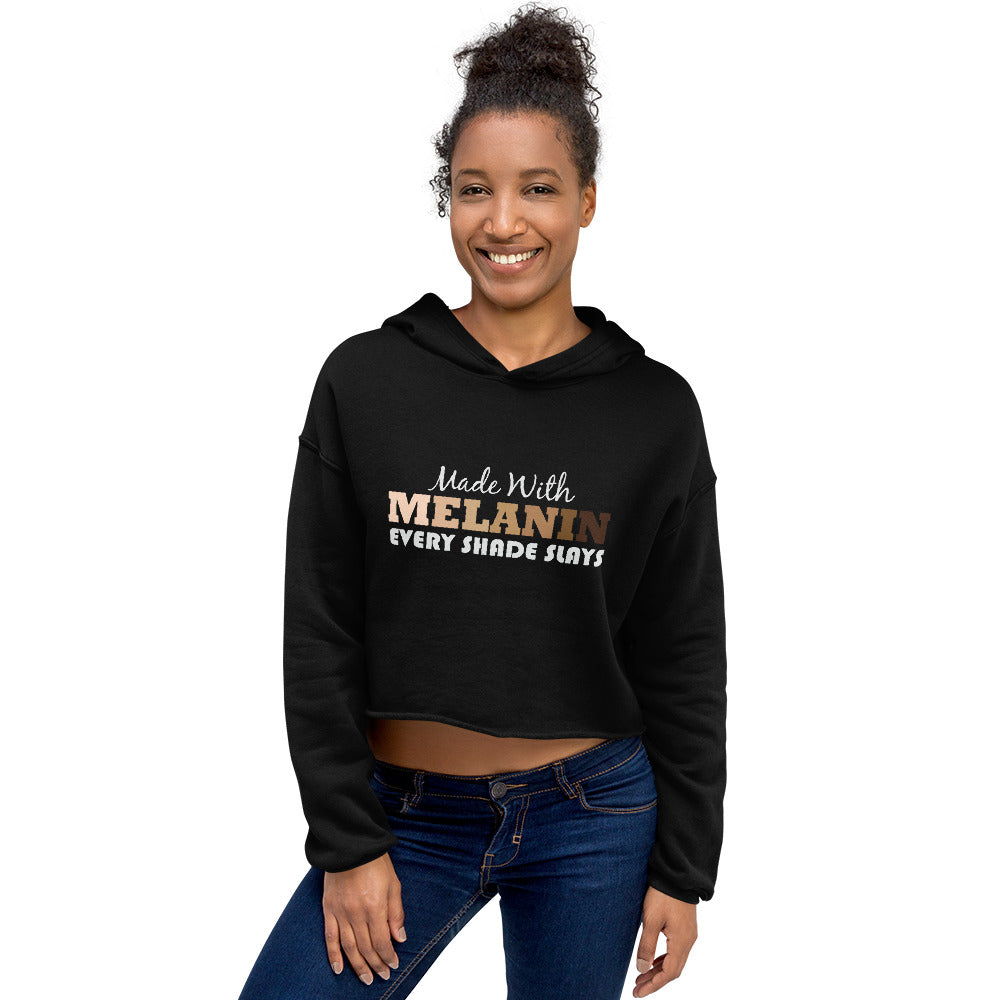 Made with MELANIN-Degree T Shirts