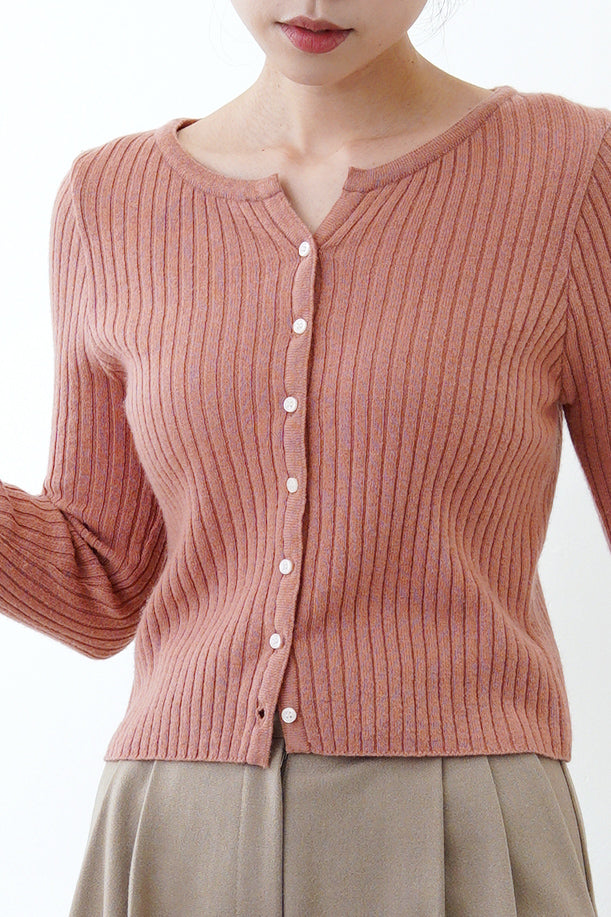 Pink thin cut cardigan
