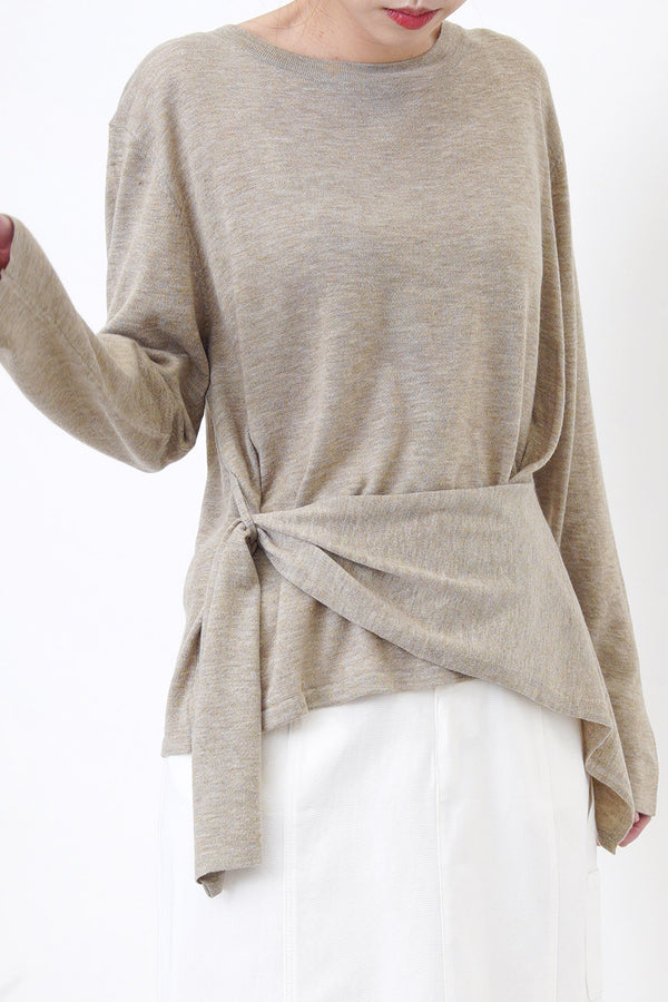 Oatmeal soft top w/ wrap layer