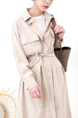 2 way shirt dress w/ waist strap