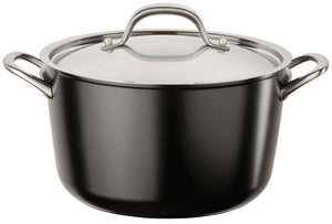 Circulon Ultimum High Density Forged 24cm Stockpot - Cast Fittings