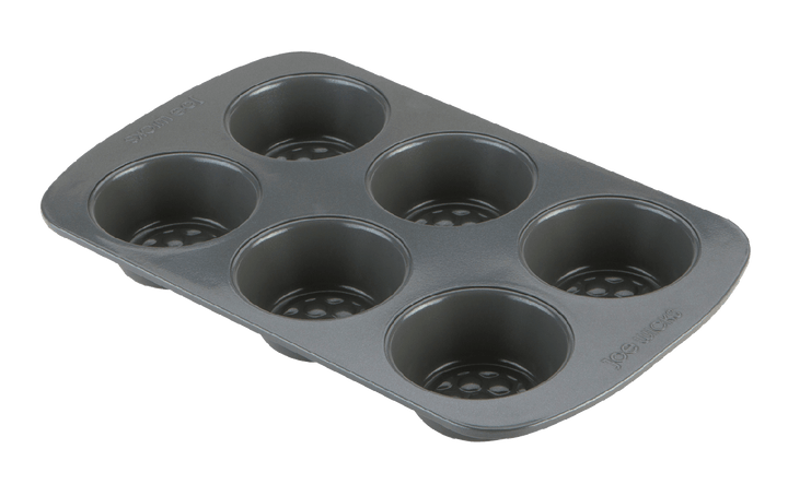 Joe Wicks Aerolift Ovenware 6 Cup Muffin Tin