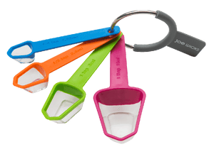 Joe Wicks 4 Piece Measuring Spoon Set