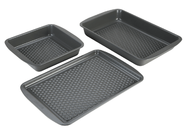 Joe Wicks Aerolift Ovenware 3 Piece Let's Get Started Set - Oven Trays