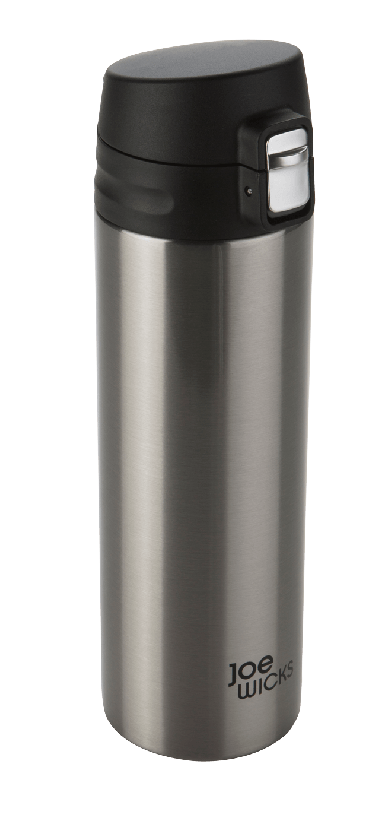 Joe Wicks Stainless Steel Hot/Cold Vacuum Bottle - Stainless Steel