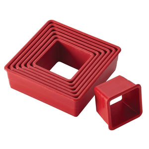 Cake Boss 9 Piece Square Cutters