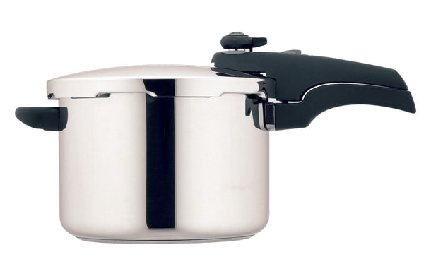 Prestige 6 Litre Stainless Steel Smart Plus Pressure Cooker