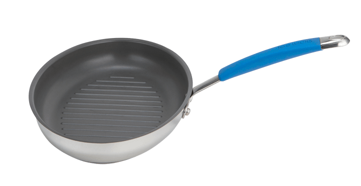 Joe Wicks Quick & Even Stainless Steel Oval Grillpan