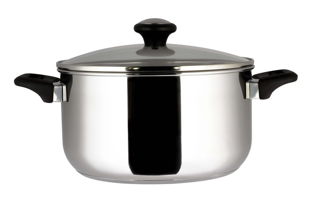 Prestige Everyday Stainless Steel Straining 24cm/7.6l Stockpot (Gb)