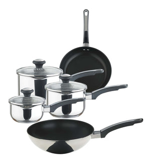 Prestige Everyday Stainless Steel Straining Everyday St Steel Straining Set 5pce (14/16/18 Span, 20/25 Fry)