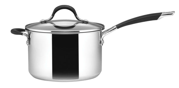 Circulon Momentum Stainless Steel 20cm / 3.8L Saucepan with Helper Handle
