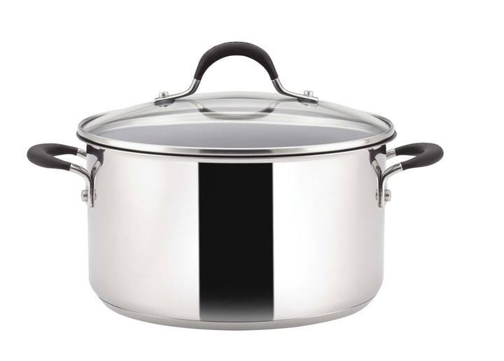 Circulon Momentum Stainless Steel 5.7L Stockpot