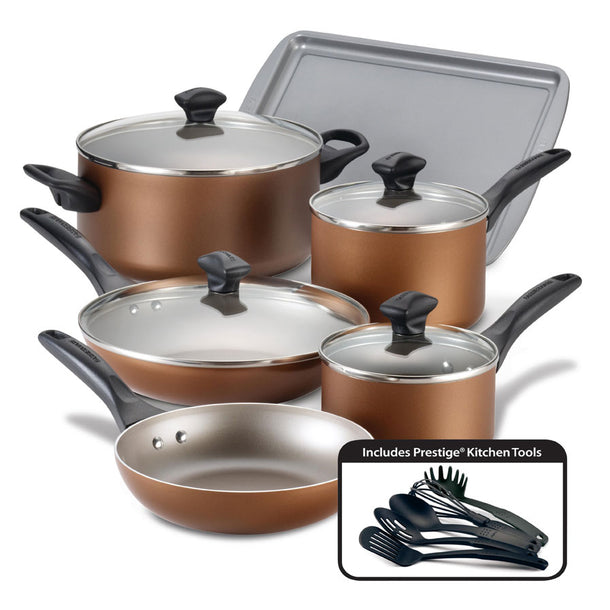 Faberware Copper Pan Set