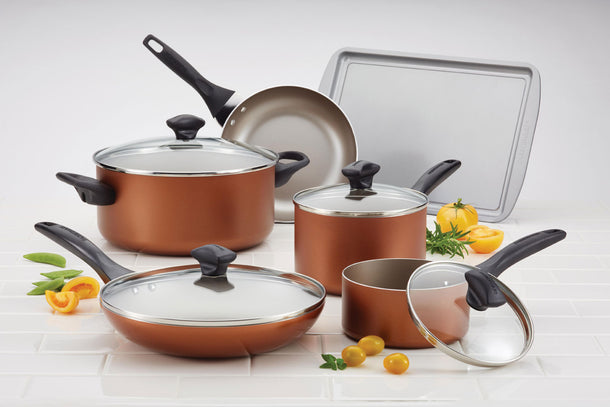 Farberware Non Stick Copper Kitchenware Set - 11 Piece