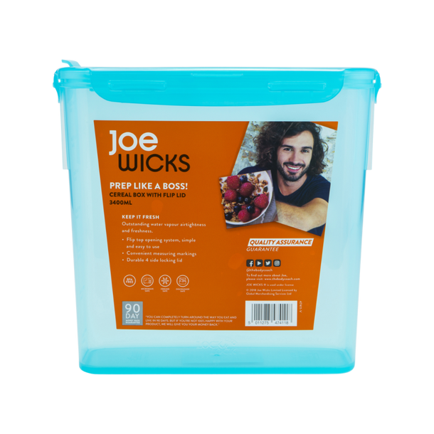 Joe Wicks Cereal Box
