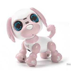 Cute Robot Dog Robotic Puppy Interactive Toy Birthday Gifts Christmas Present Toy for Children