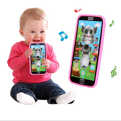 Stylish Music Phone Touch Screen Simulator Toy For Baby Kid Child Learning Gift