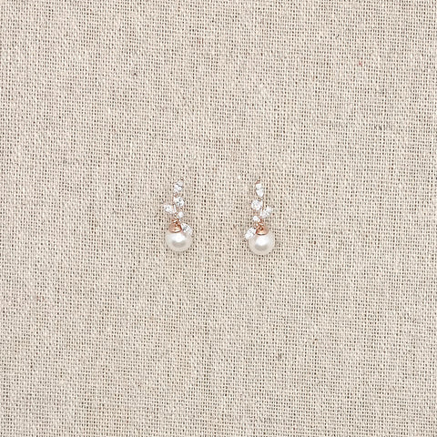 Laverna Earrings Rose Gold