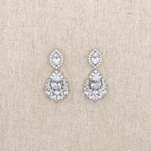 Fallon Silver Earrings