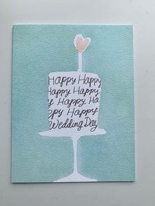 'Happy Wedding Day' Card