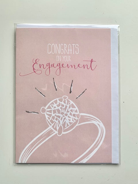 'Congrats On Your Engagement' Card